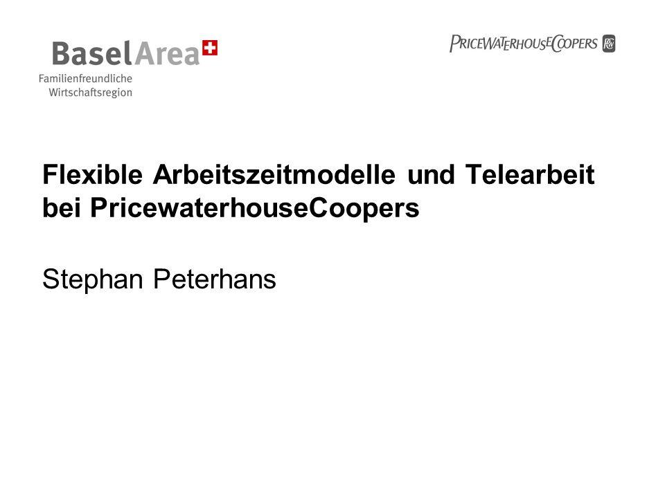Flexible Arbeitszeitmodelle und Telearbeit bei PricewaterhouseCoopers