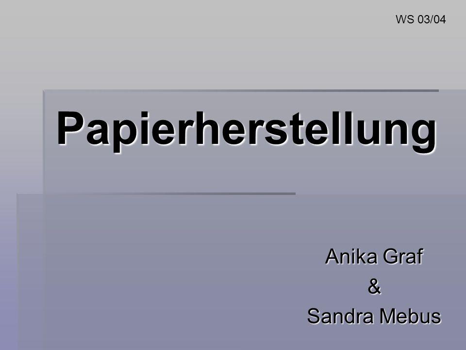 Anika Graf & Sandra Mebus