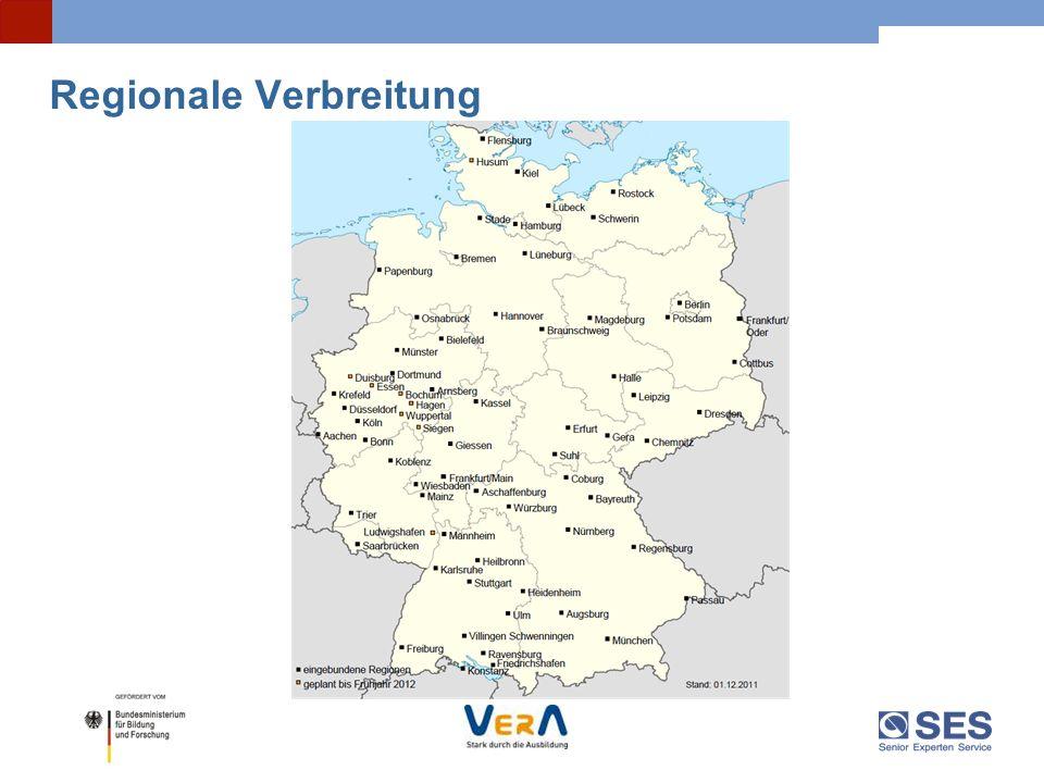 Regionale Verbreitung
