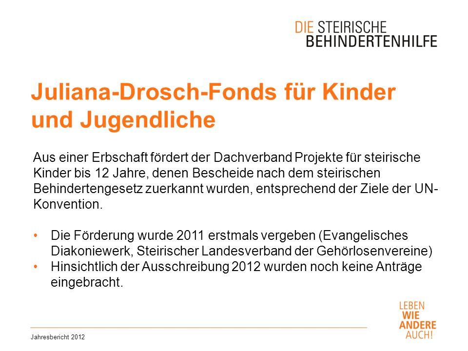Juliana-Drosch-Fonds für Kinder und Jugendliche