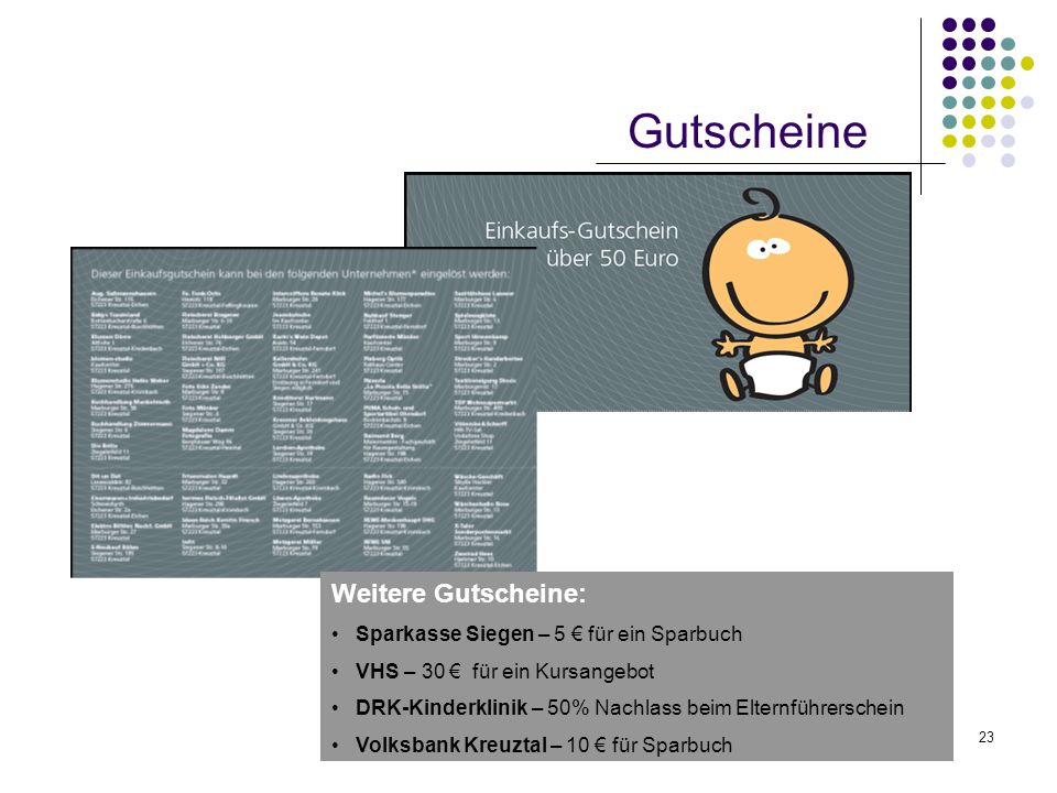 Gutscheine Weitere Gutscheine: Sparkasse Siegen – 5 € für ein Sparbuch