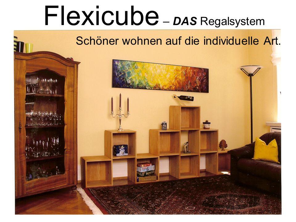 Flexicube – DAS Regalsystem
