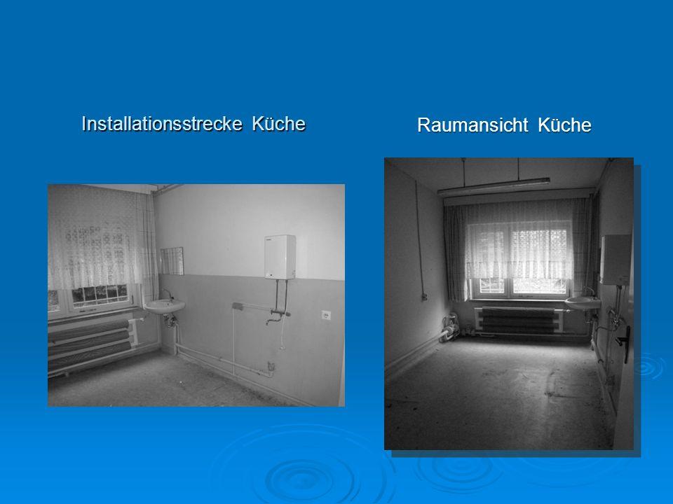 Installationsstrecke Küche
