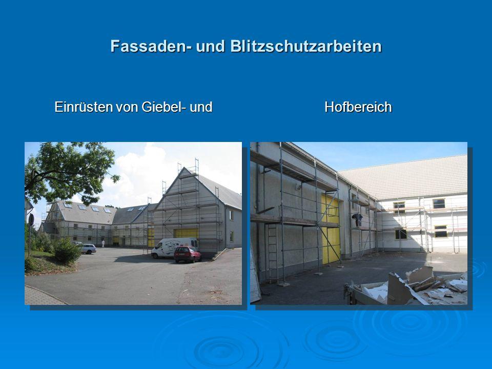 Fassaden- und Blitzschutzarbeiten