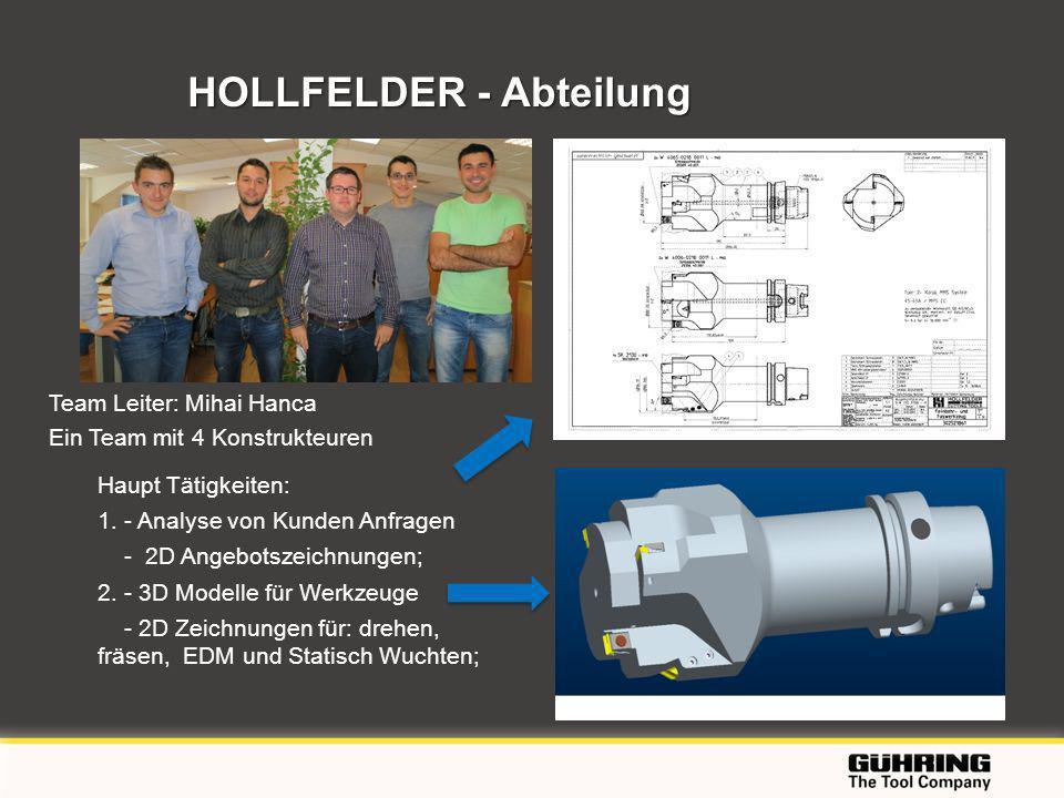 HOLLFELDER - Abteilung