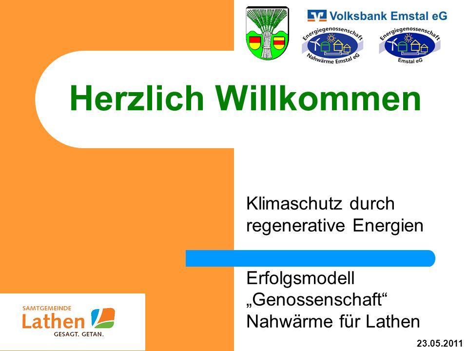 Herzlich Willkommen Klimaschutz durch regenerative Energien