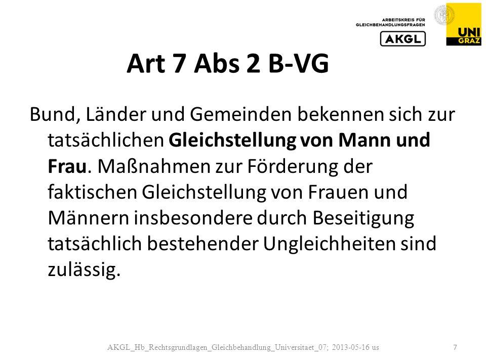 Art 7 Abs 2 B-VG