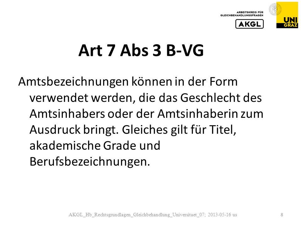 Art 7 Abs 3 B-VG