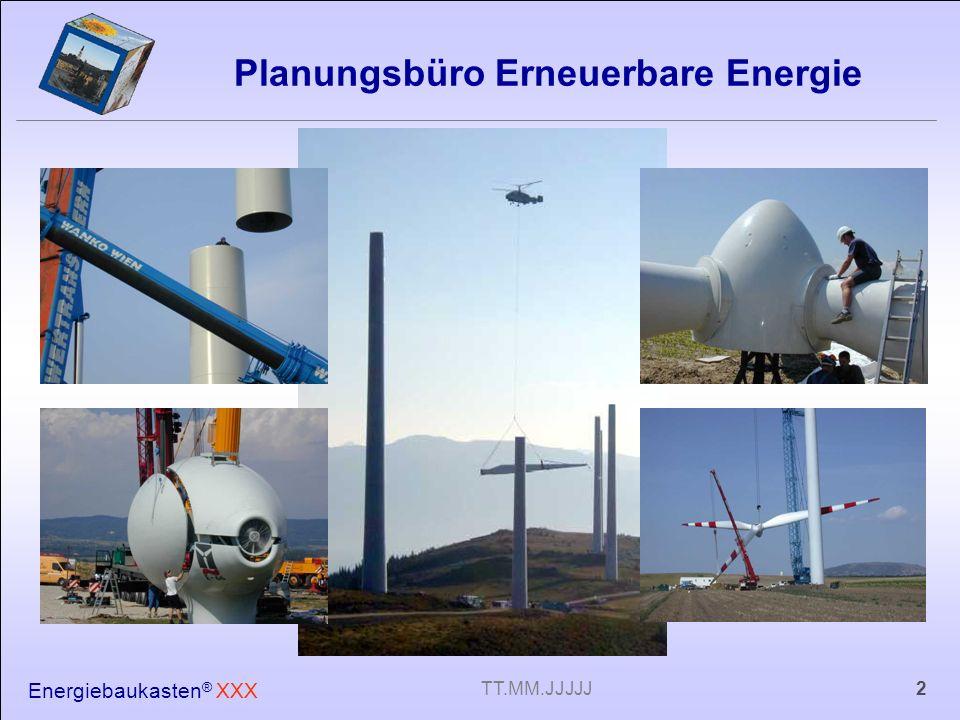 Planungsbüro Erneuerbare Energie