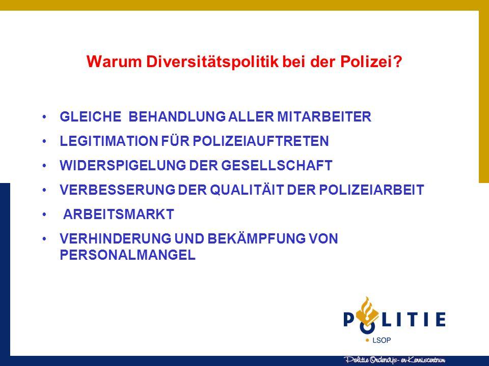 Warum Diversitätspolitik bei der Polizei