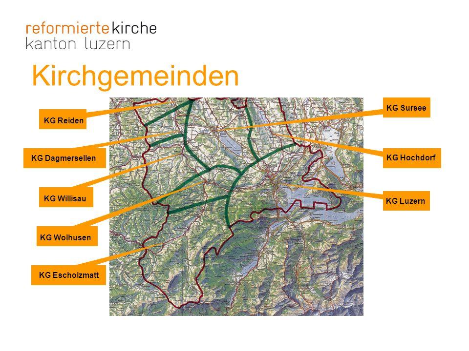 Kirchgemeinden KG Sursee KG Reiden KG Dagmersellen KG Hochdorf