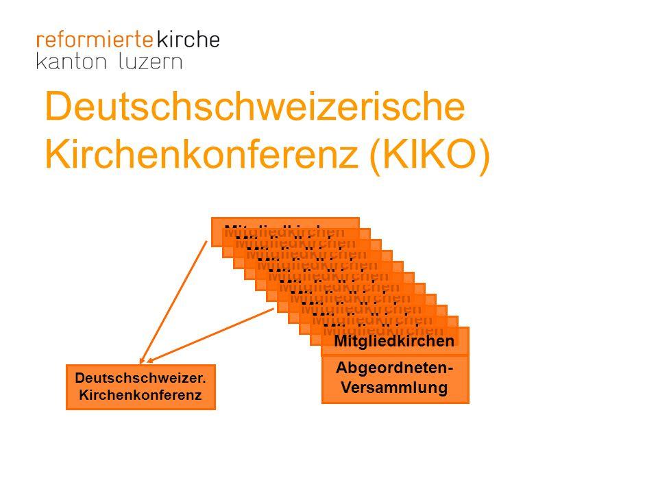 Deutschschweizer. Kirchenkonferenz Abgeordneten-Versammlung