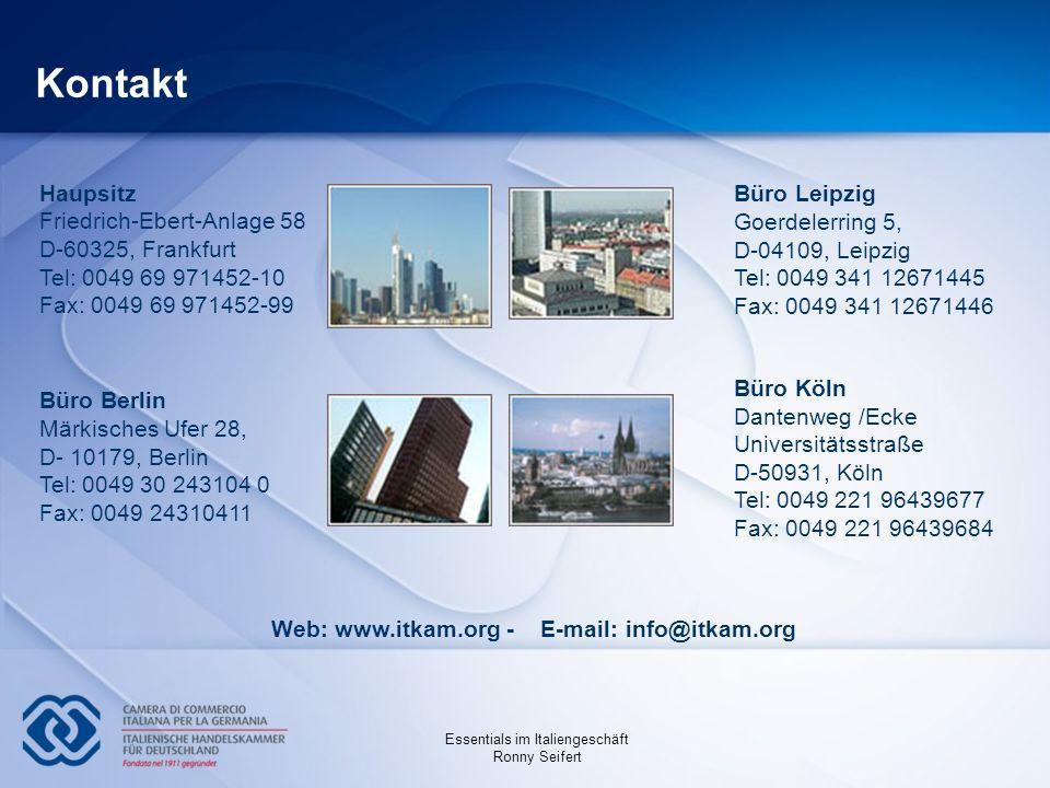 Kontakt Büro Leipzig Goerdelerring 5, D-04109, Leipzig Tel: 0049 341 12671445 Fax: 0049 341 12671446.