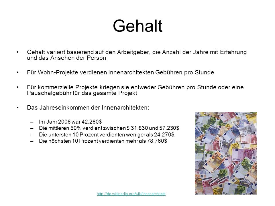 Innenarchitekt ausbildung  Innenarchitekt. - ppt video online herunterladen