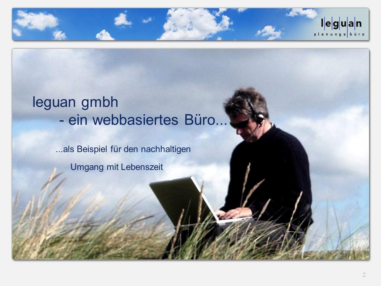 leguan gmbh - ein webbasiertes Büro...