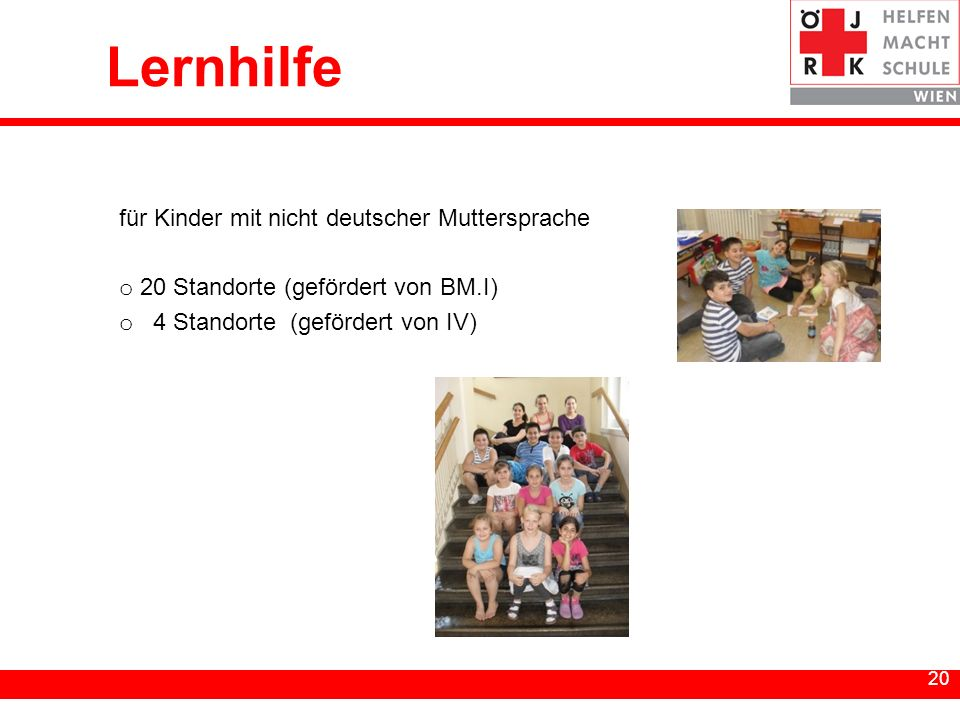 Lernhilfe für Kinder mit nicht deutscher Muttersprache
