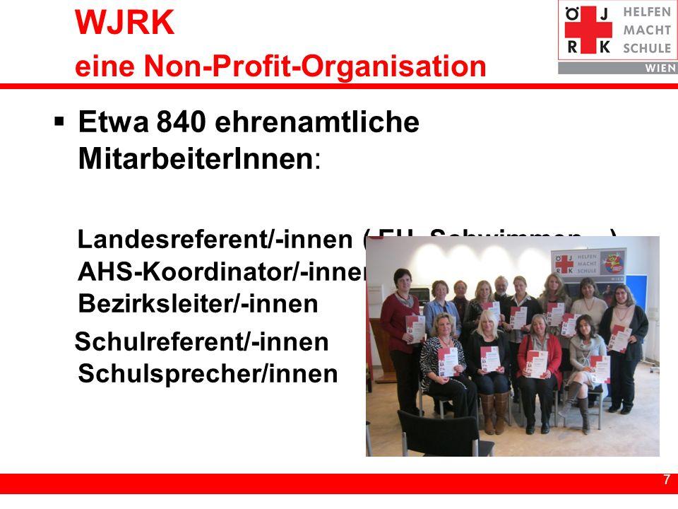 WJRK eine Non-Profit-Organisation