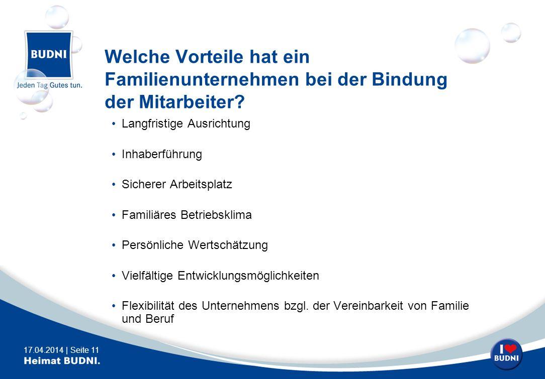 Welche Vorteile hat ein Familienunternehmen bei der Bindung der Mitarbeiter