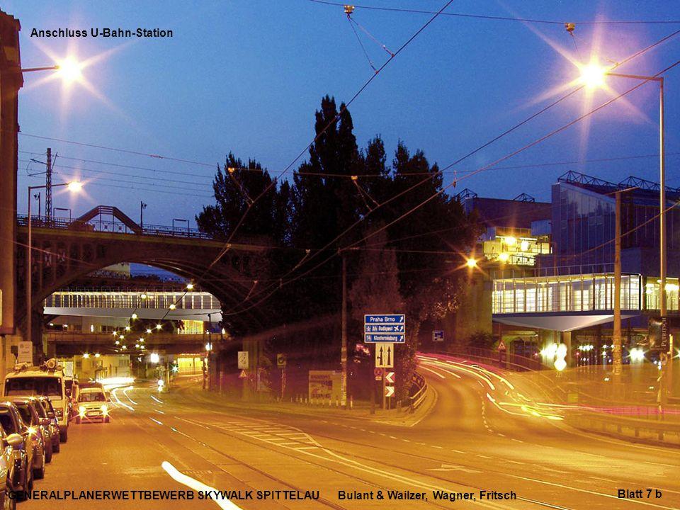 Anschluss U-Bahn-Station