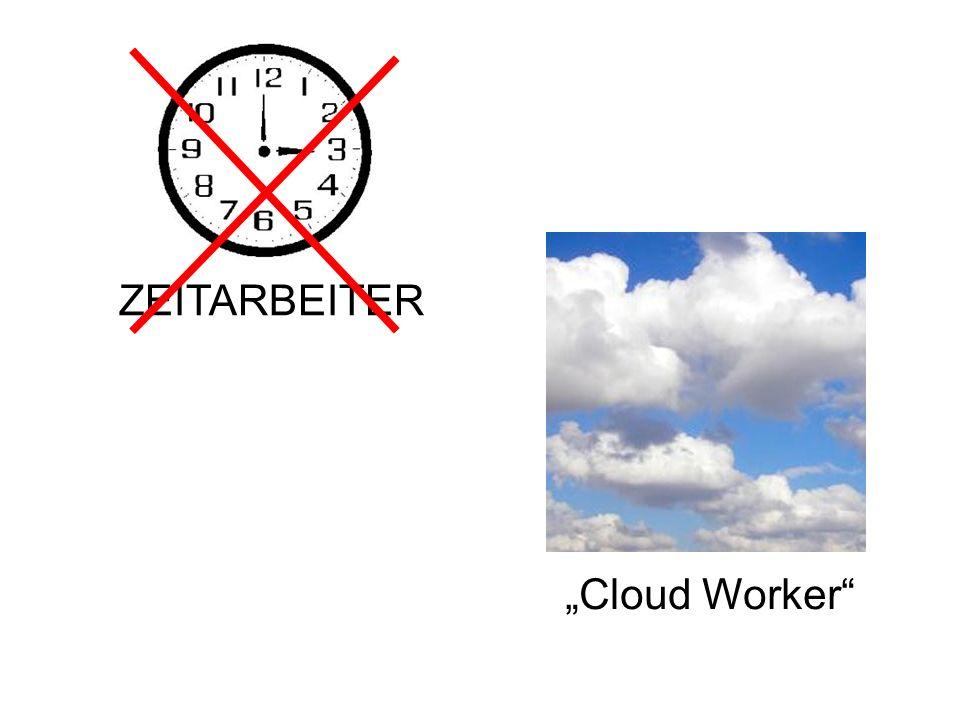 """ZEITARBEITER """"Cloud Worker"""