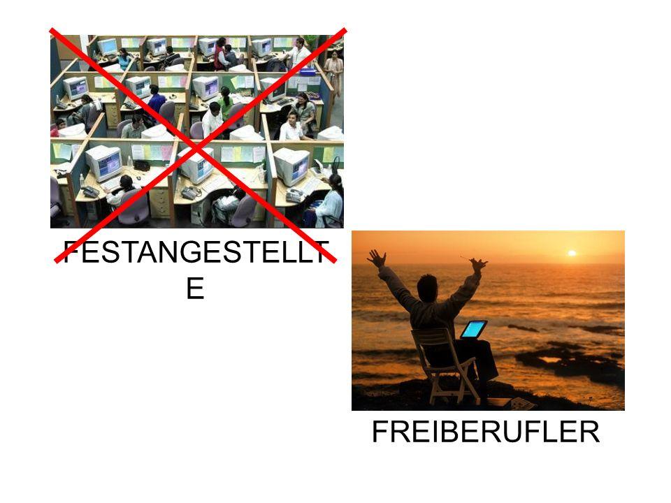 FESTANGESTELLTE FREIBERUFLER
