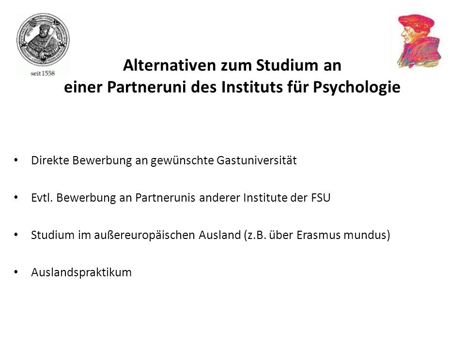 Alternativen zum Studium an