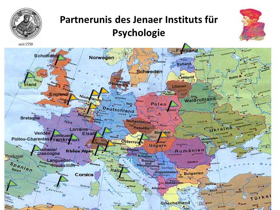Partnerunis des Jenaer Instituts für