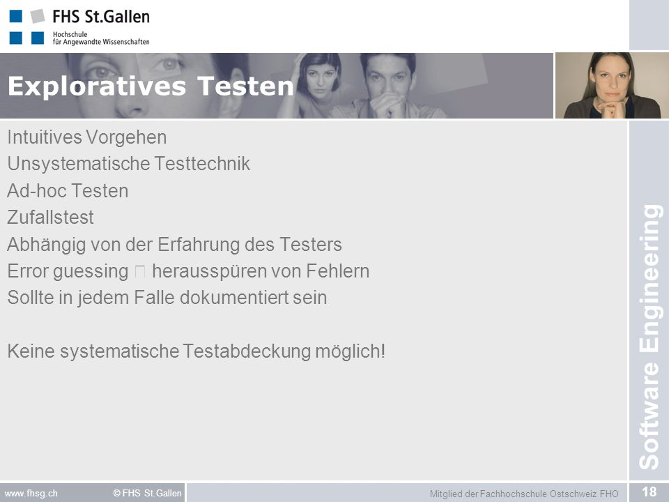 Exploratives Testen