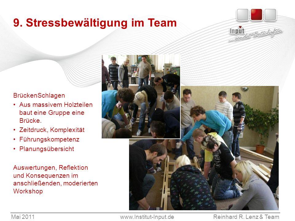 9. Stressbewältigung im Team