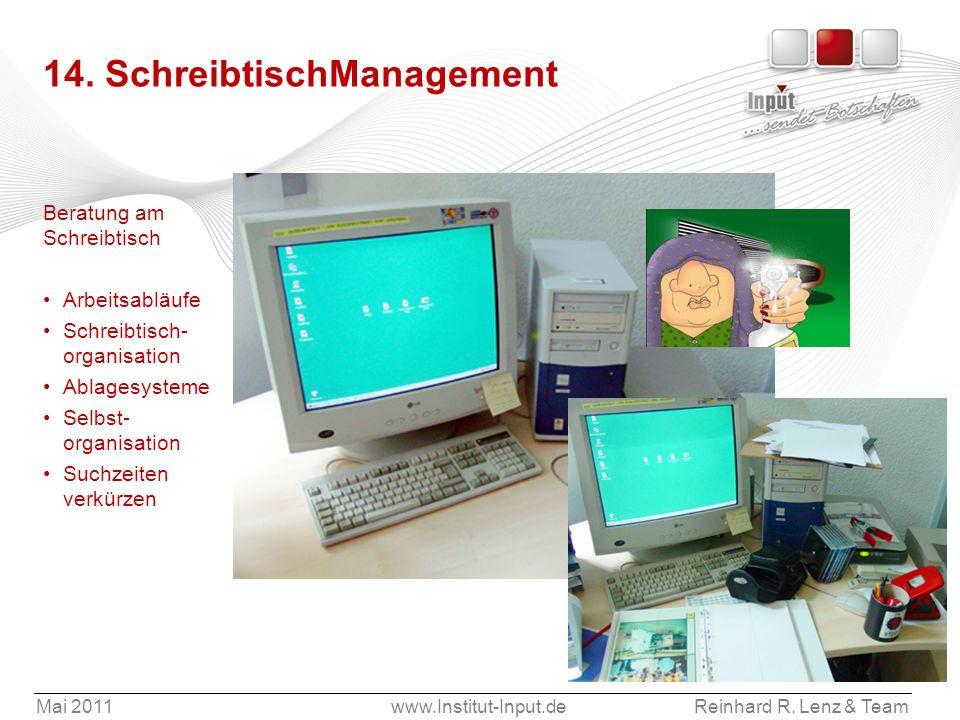 14. SchreibtischManagement