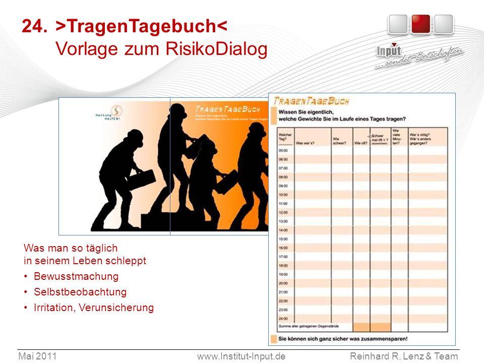 24. >TragenTagebuch< Vorlage zum RisikoDialog