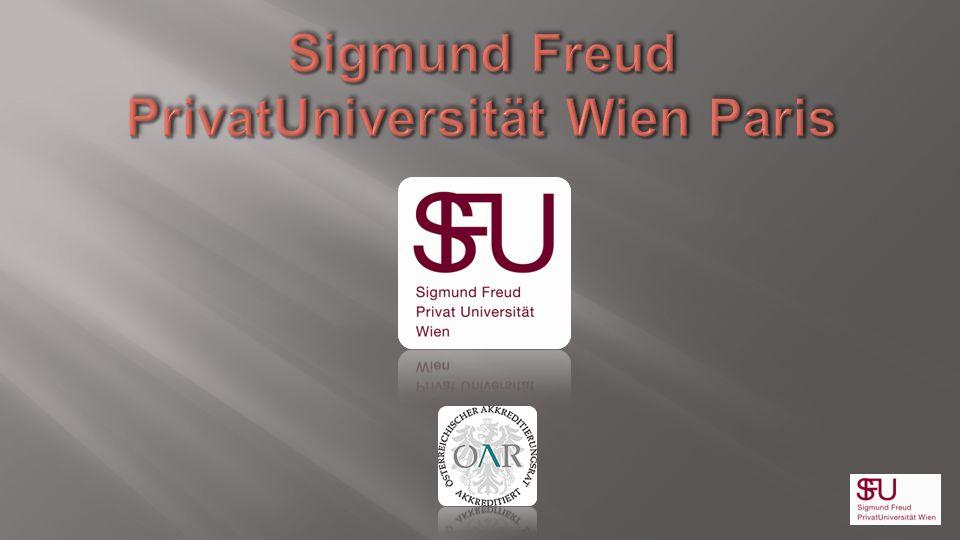 Sigmund Freud PrivatUniversität Wien Paris