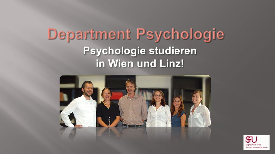 Department Psychologie