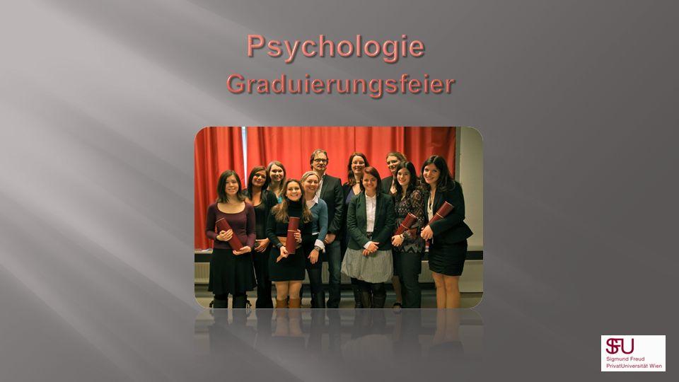 Psychologie Graduierungsfeier