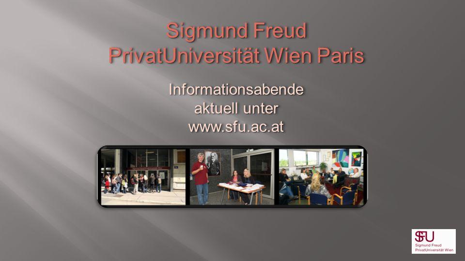 PrivatUniversität Wien Paris