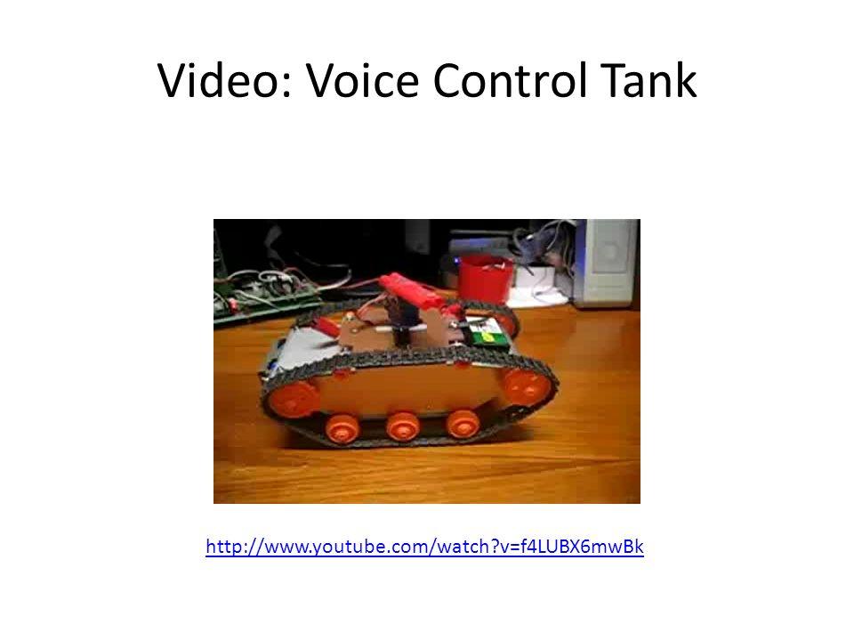 Video: Voice Control Tank
