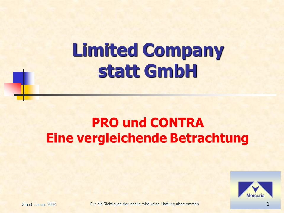 Limited Company statt GmbH