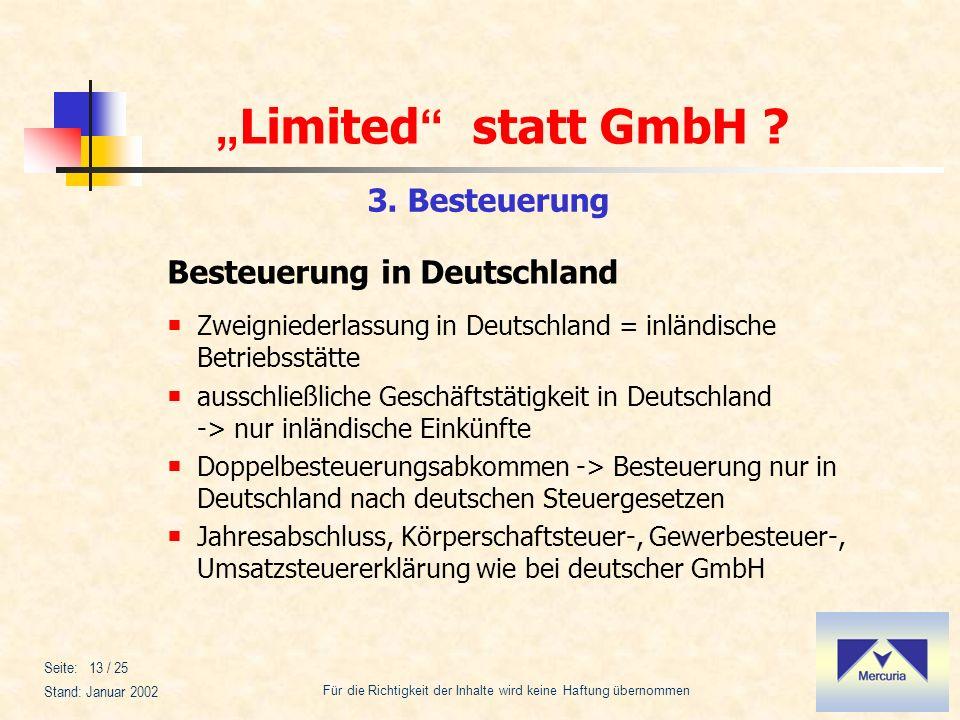 Besteuerung in Deutschland