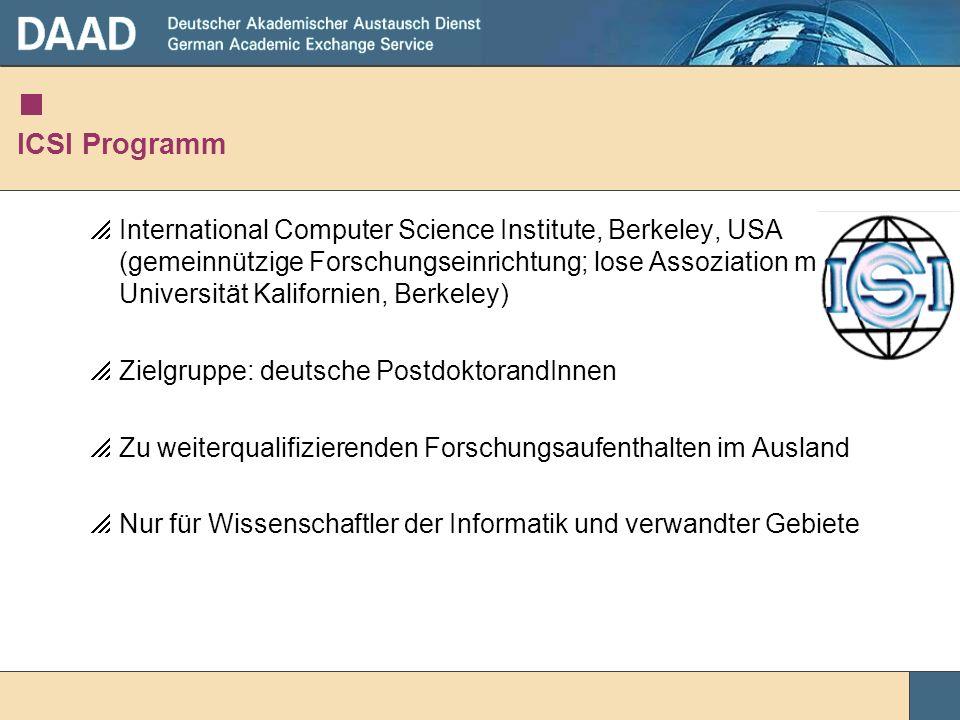 ICSI Programm