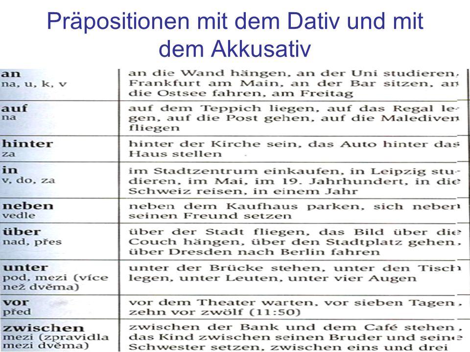 Die hauptstadt der tschechischen republik ppt herunterladen for Prapositionen mit akkusativ