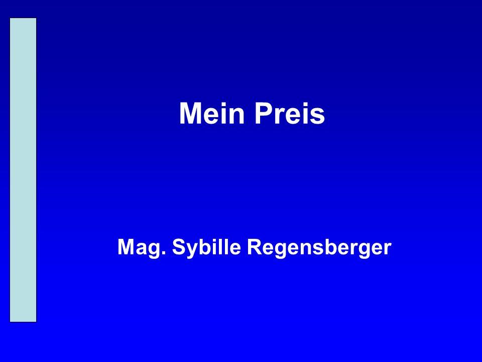 Mag. Sybille Regensberger