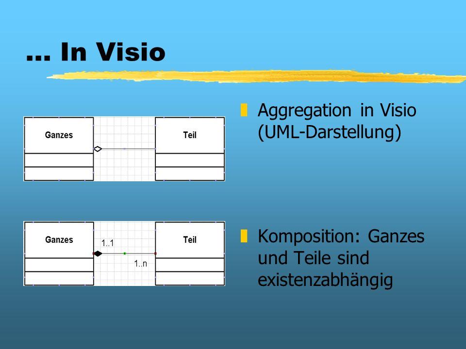 ... In Visio Aggregation in Visio (UML-Darstellung)
