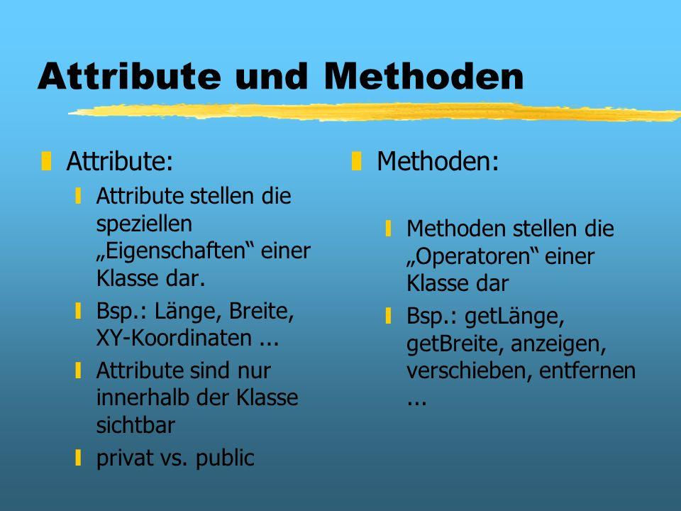 Attribute und Methoden