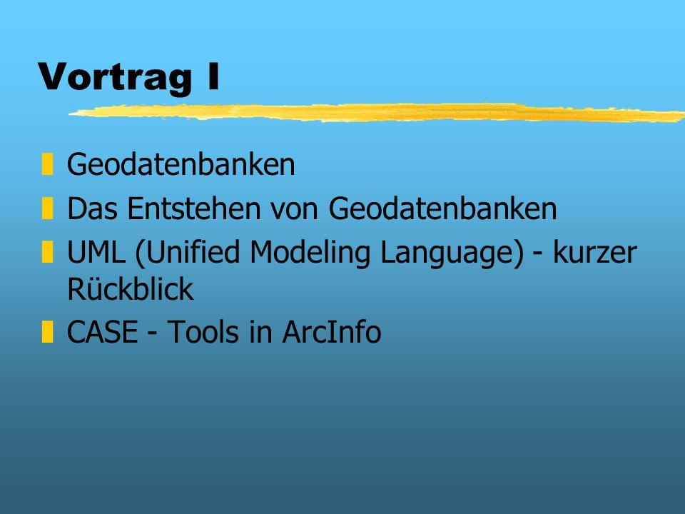 Vortrag I Geodatenbanken Das Entstehen von Geodatenbanken