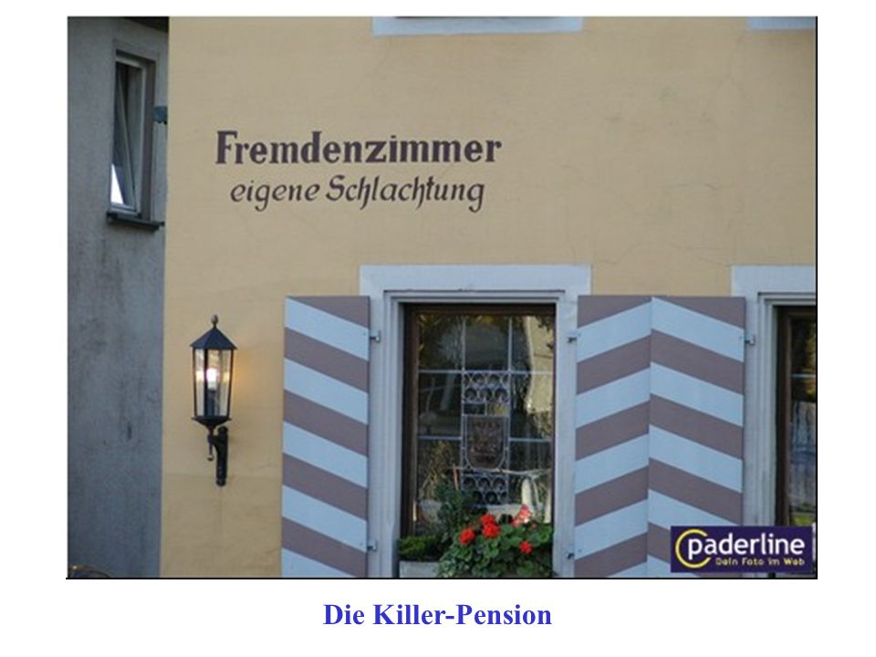 Die Killer-Pension