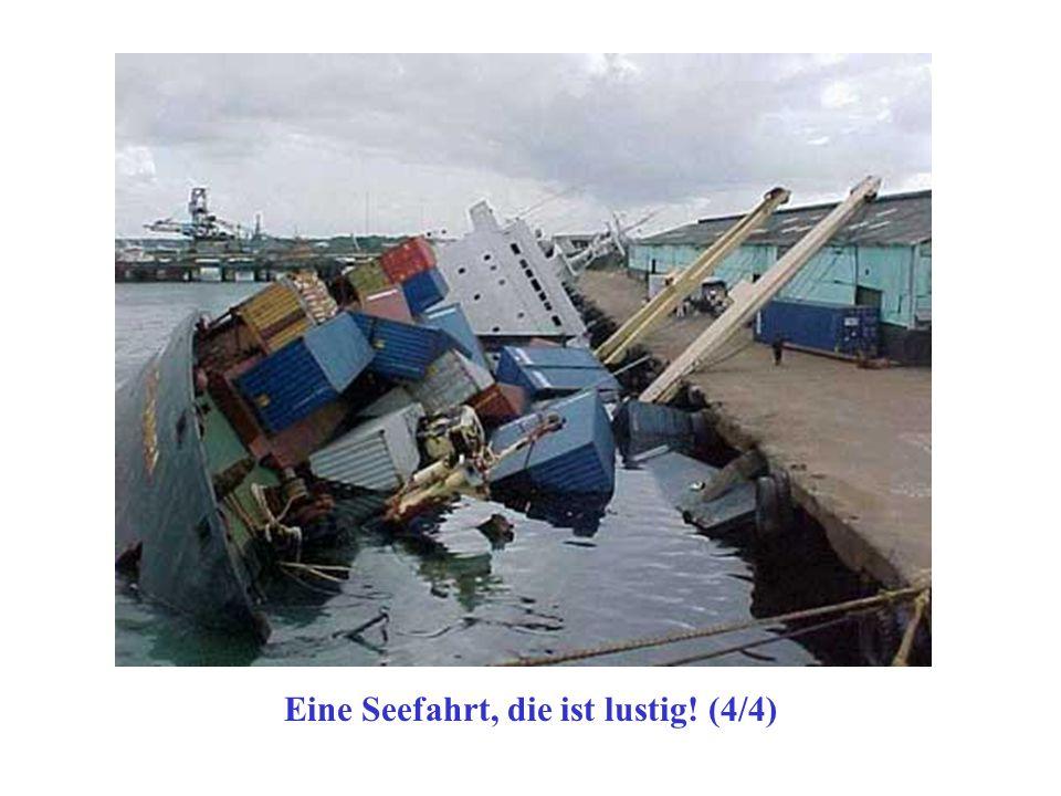 Eine Seefahrt, die ist lustig! (4/4)