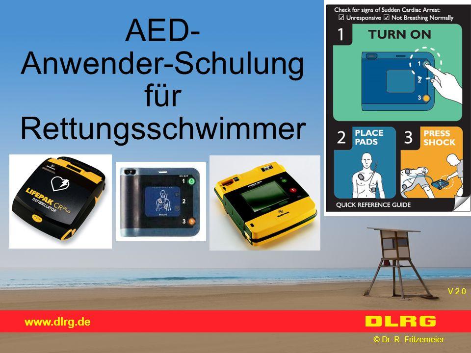 AED- Anwender-Schulung für Rettungsschwimmer