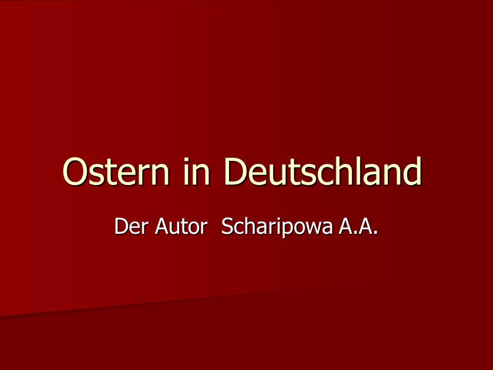 Der Autor Scharipowa A.A.