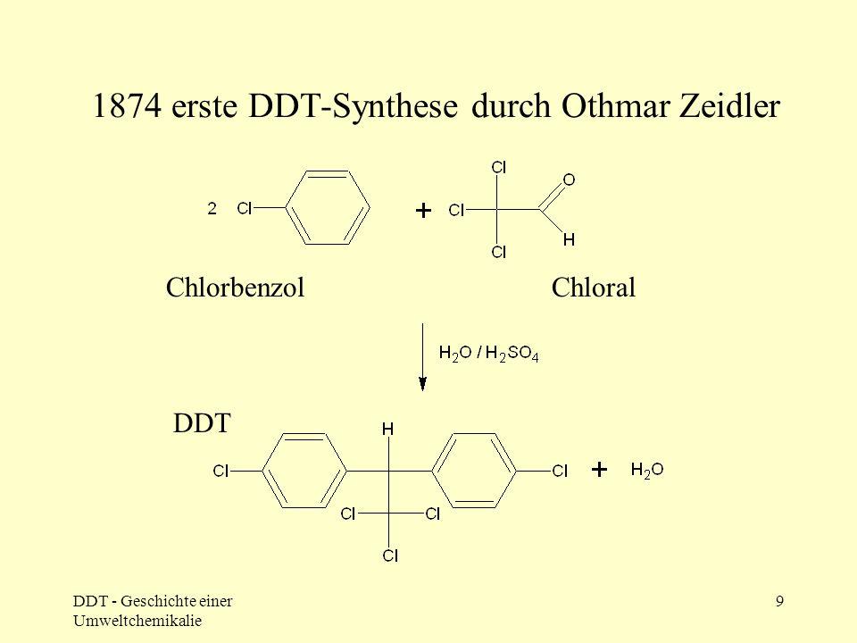 """DDT als """"Idealpestizid"""