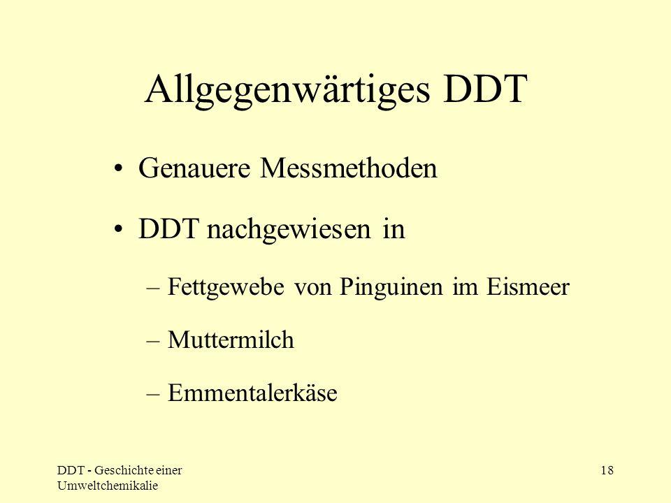 DDT in der Nahrungskette